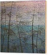 Mist Fantasy Wood Print