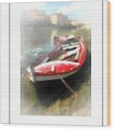 Mist On The Arno Poster Wood Print