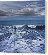 Mister Kallinski And The Sea Wood Print