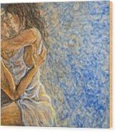 Misty Romance Wood Print