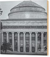 Mit Building 10 And Great Dome II Wood Print