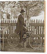 Mitchell Motorcycle Circa 1907 Wood Print