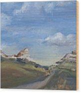 Mitchell Pass Western Nebraska Wood Print