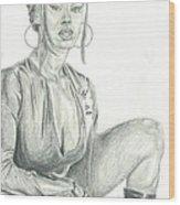Miya Wood Print