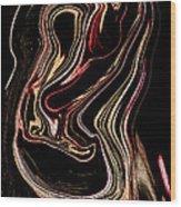 Mk IIic Wood Print by Anthony Bean