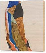 Moa Wood Print