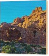 Moab Arches Twist Wood Print