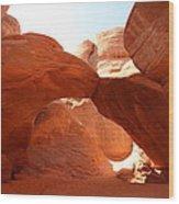 Moab Wood Print