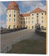Moated Castle Moritzburg Wood Print