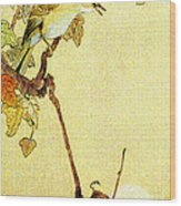 Mockingbird 1890 Wood Print by Padre Art