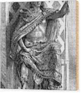 Moctezuma II, Ninth Tlatoani, Aztec Wood Print