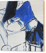 Model #4 - Figure Series Wood Print