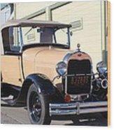 Model A Ford Truck Wood Print