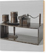 Model Of A Spindle Tool, Anonymous Wood Print