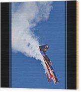 Model Plane 5 Wood Print