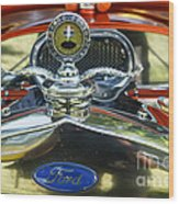Model T Ford Wood Print by Robert Bales