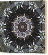 Model T Kaleidoscope Wood Print