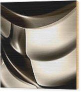 Modern Abstract 04 Wood Print