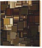 Modern Abstract Iv Wood Print