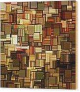 Modern Abstract Xxiii Wood Print