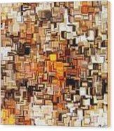 Modern Abstract Xxvi Wood Print