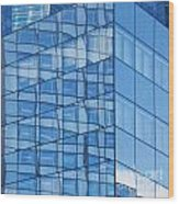 Modern Architecture Abstract Wood Print