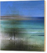 Modern-art Bondi Beach Wood Print