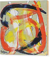 Modern Art Eighteen Wood Print