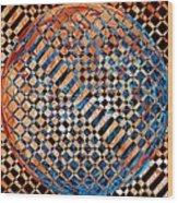 Modern Art Iv Wood Print