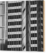 Modern Buildings Abstract Architecture Wood Print