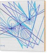 Modern Drawing Eighty-eight Wood Print