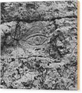 Modern Hieroglyphics Viii Wood Print