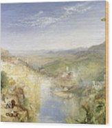 Modern Italy - The Pifferari, 1838 Wood Print