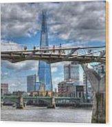 Modern London Wood Print