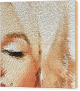 Modern Marilyn - Marilyn Monroe Art By Sharon Cummings Wood Print