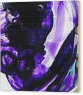 Modern Purple  Wood Print
