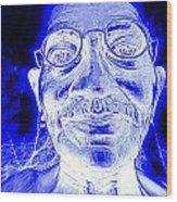 Mohandas Gandhi Wood Print