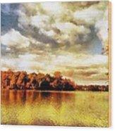 Mohegan Lake 2 Wood Print