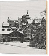 Mohonk Mountain House Wood Print