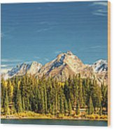Molas Lake And The Needles Pan 1 Wood Print