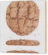 Molasses Cookie Wood Print