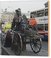 Molly Malone Wood Print