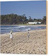 Mollymook Beach On The South Coast Of New South Wales Australia Wood Print