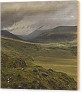 Molly's Gap Co Kerry Ireland Wood Print