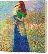 Mom I Love You 021 Wood Print