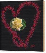 Mom Infinite Love  Wood Print