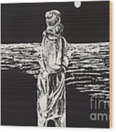 Momhold Wood Print