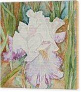 Mom's Iris Wood Print