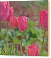 Mom's Spring  Wood Print