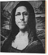 Mona  Wood Print